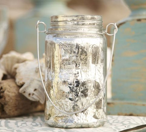 Country style lantern from Potterybarn