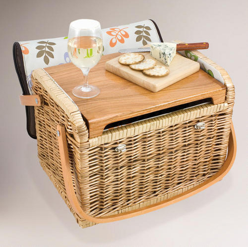 Wine and Cheese basket at World Market
