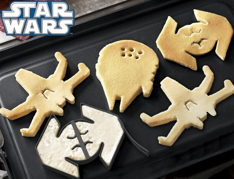 Star Wars pancakes