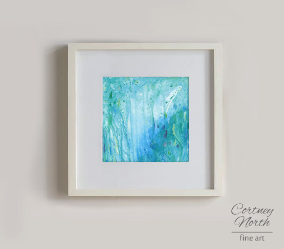 Imagination Art Print by Cortney North with frame