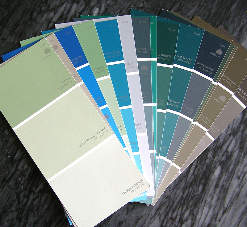 Color Palette Collection and bookmarks