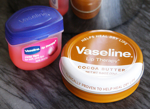Vaseline Rosy Lips and Lip Therapy