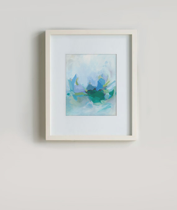 Morning by the waves by Cortney North fine art print