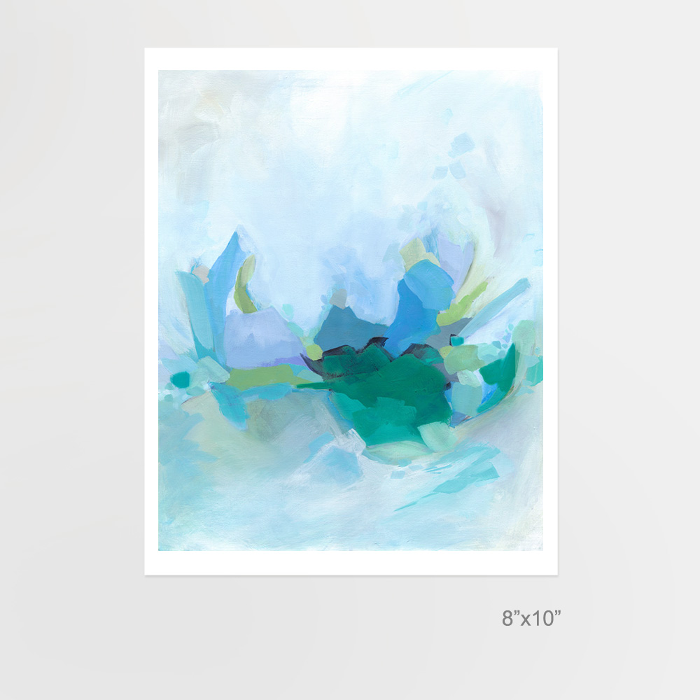 Morning by the Waves fine art print by Cortney North