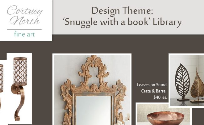 Snuggle with a book Library Design by Cortney North