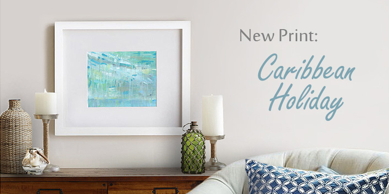 Caribbean Holiday is newest print at Cortney North Art