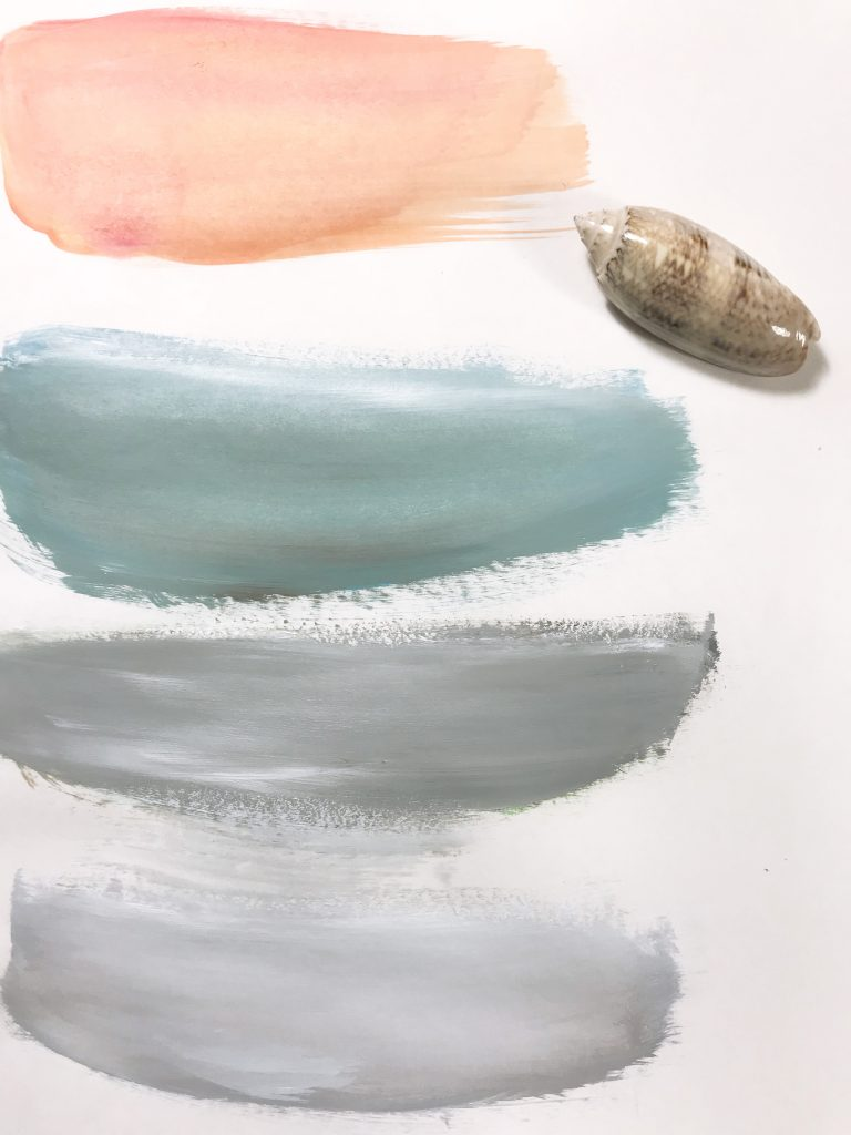 Sea shell inspired colors for my next paintings!