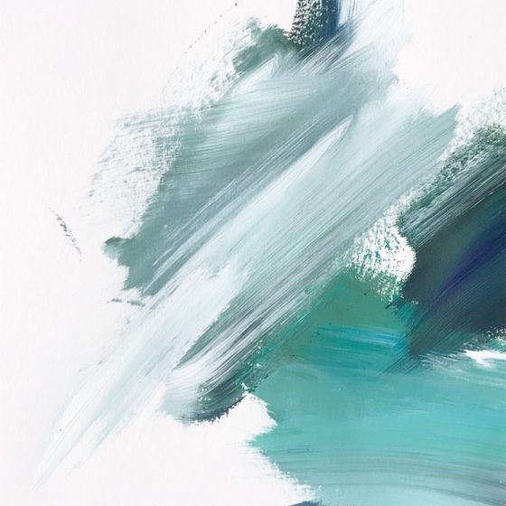 Water Movement #4 by Cortney North, abstract art